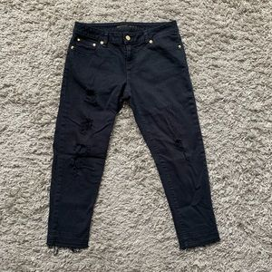 Michael kors Izzy cropped skinny jeans size 4p
